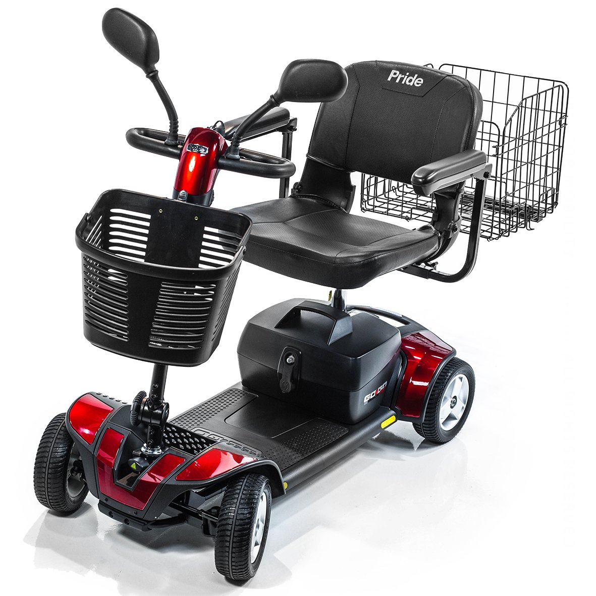 Amazon.com: Pride Movilidad Go-Go Deporte 4-Wheel Travel ...