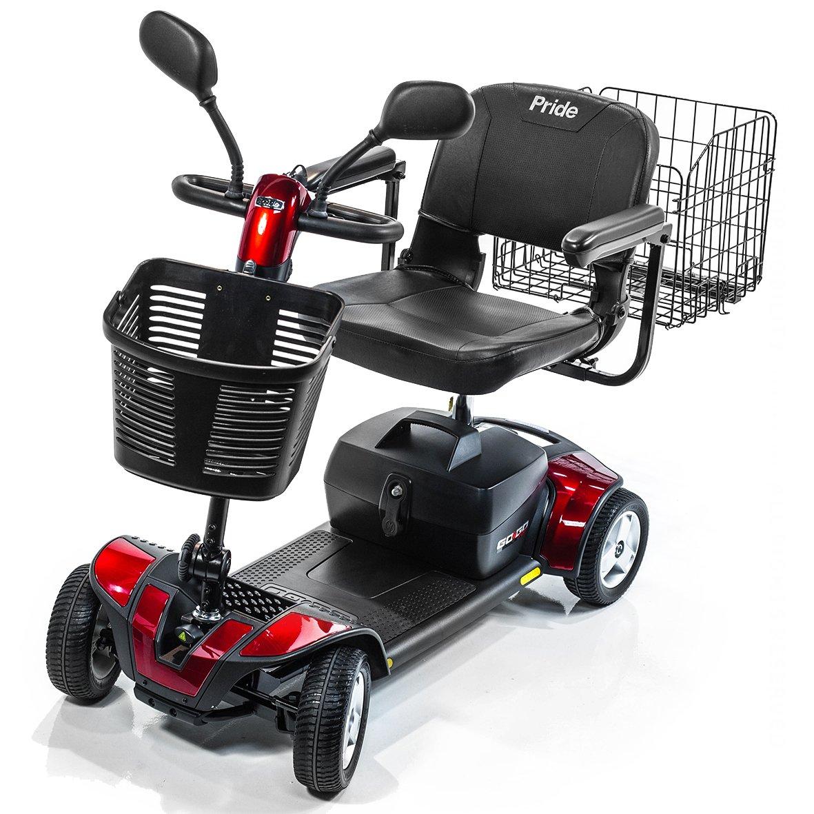 Amazon.com: Pride Movilidad Go-Go Deporte 4-Wheel Travel ...