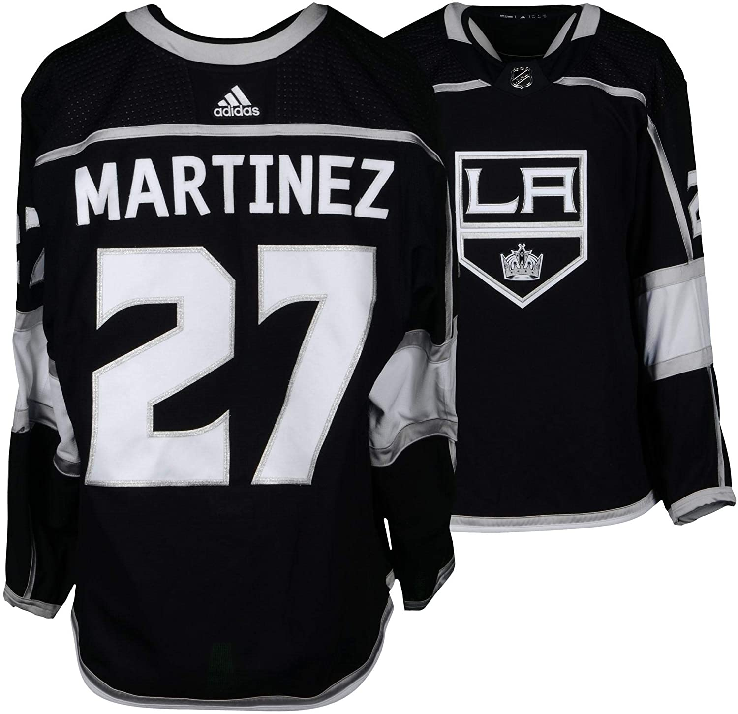 purchase cheap 9bfca 58c2e Alec Martinez Los Angeles Kings Game-Used #27 Black Jersey ...