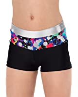 Girls Hologram Shorts,G651C