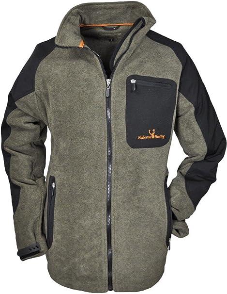 hubertus fleece jacke jagd