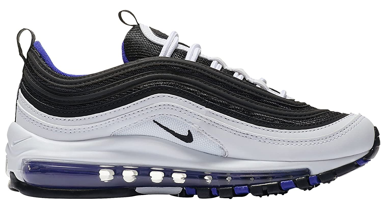 f5ebc5e706 Amazon.com | NIKE Air Max 97 White/Black-Persian Violet (GS) | Sneakers