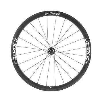 ZeroCx - Rueda trasera de Carbono para carretera - Perfil 38mm Cubierta - Modelo Zero Weight - Sram/Shimano 10/11v: Amazon.es: Deportes y aire libre