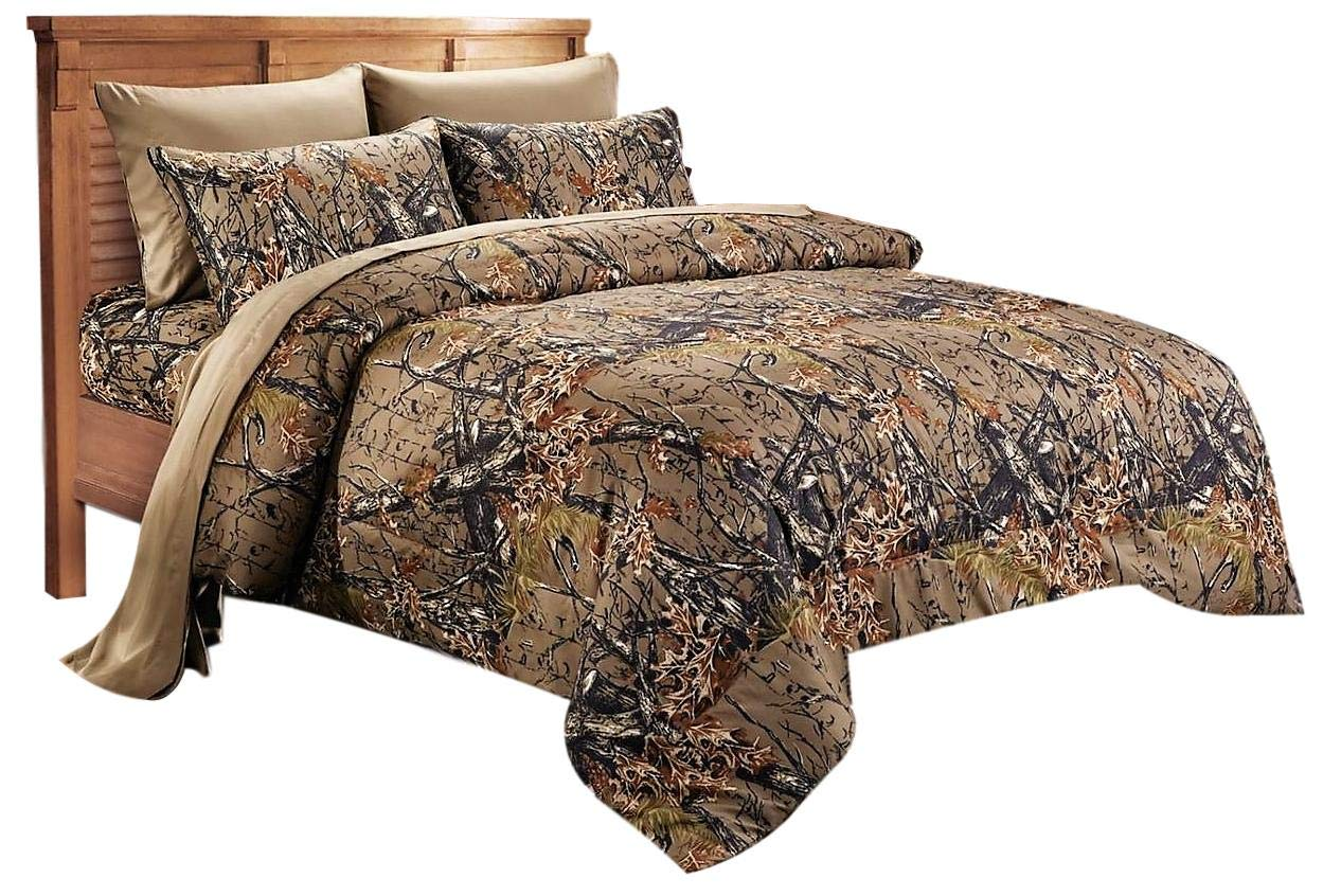 Camouflage Bed Sheets: Amazon.com