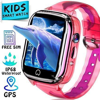 Amazon.com: 2019 Upgrade Kids Watch [Free SIM Card ...