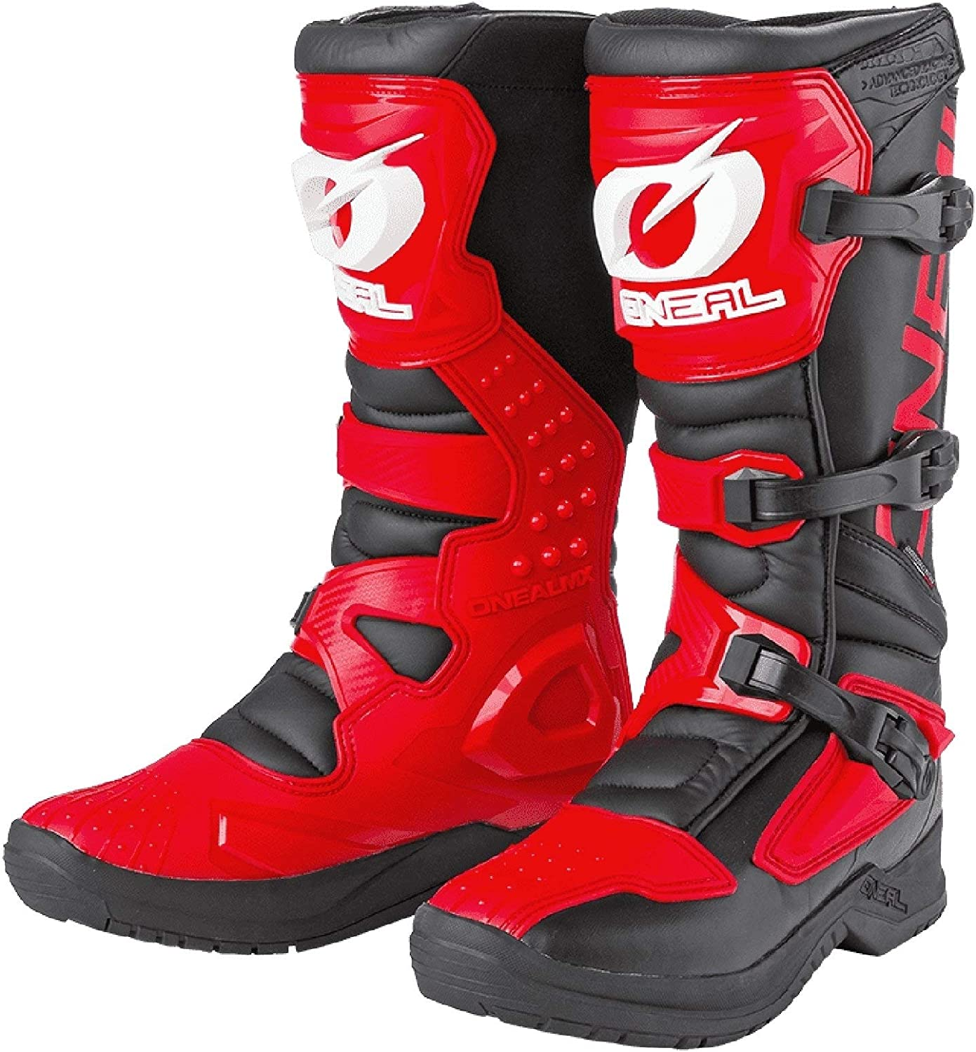 ONeal Unisex Motocross Stiefel RSX Boot 39 Rot 0334-1