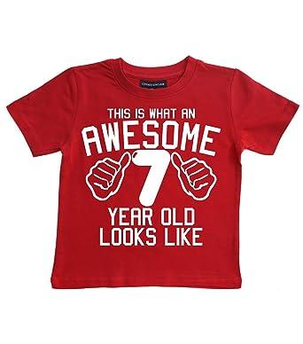 Esta Lo Que Un Impresionante 7 años Old Looks Like Rojo ...