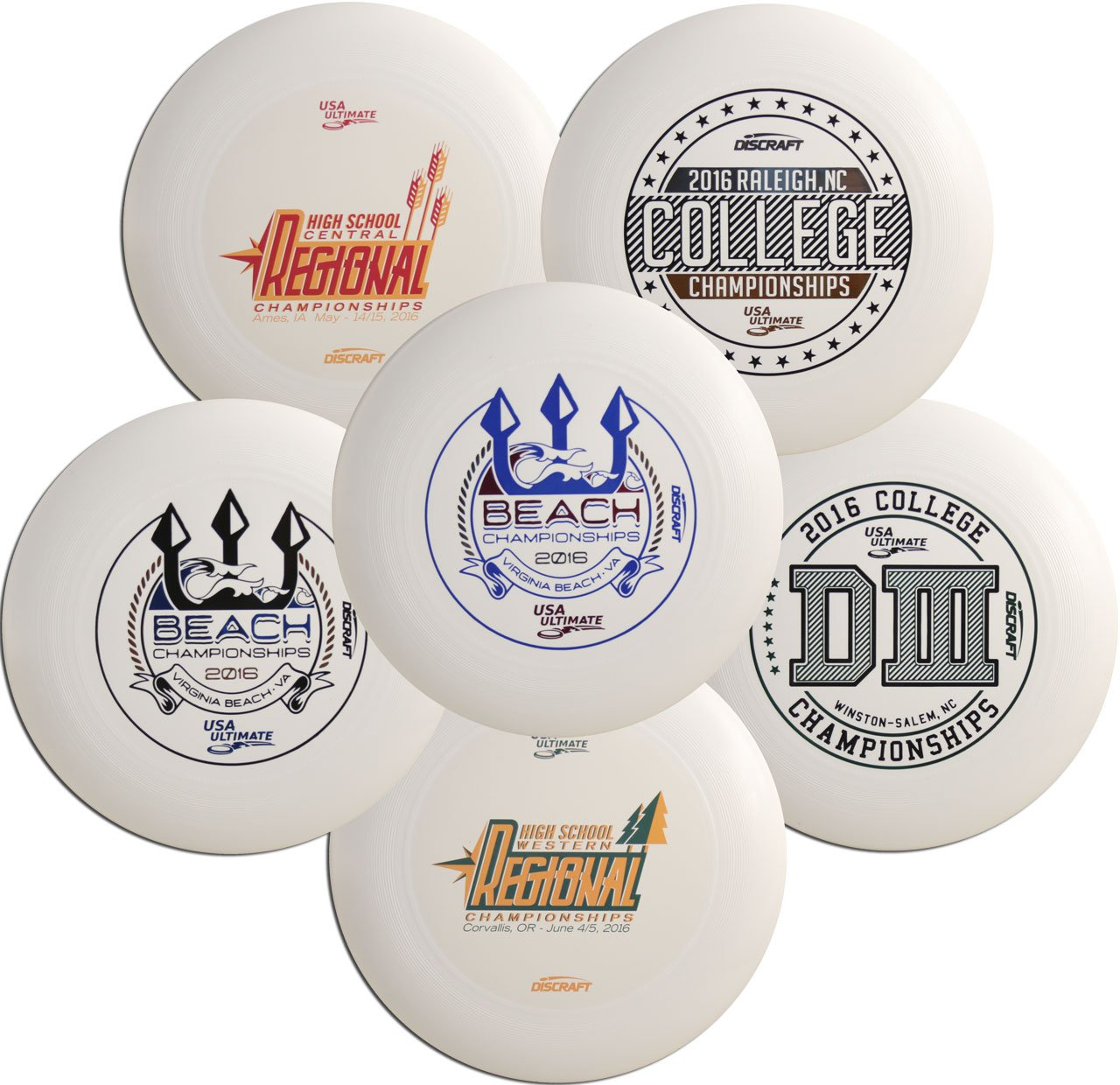 Discraft Ultra-Star Ultimate Disc Assorted Designs (Single disc) by The Wright Life