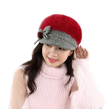 30720e20f4e Kingko® Fashion Girls Women Lady Winter Warm Crochet Knitted Hat ...