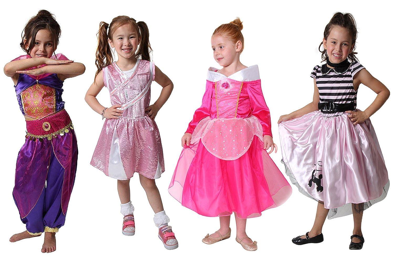 Classic Storybook Princess Dress 4 Pack Set Choose Style