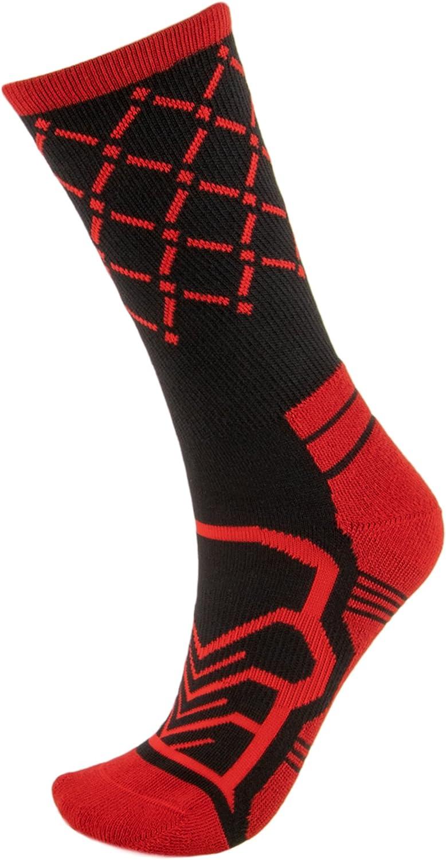 Basketball Net Socks Cooldry Light Compression Crew Basketball Socks by Crown Sporting Goods Anax Advantage