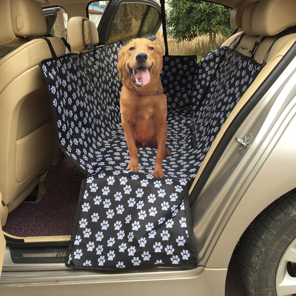 Coprisedile per cane lenezaro copertura sedile auto impermeabile Custodia di sedile posteriore di auto in tessuto impermeabile Oxford Amaca auto universale per auto camion suv-130 * 150 * 55 cm