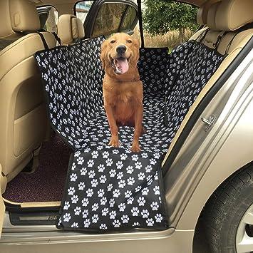 Funda para asiento de perro lenezaro protectora asiento de coche impermeable Funda para de traseros de