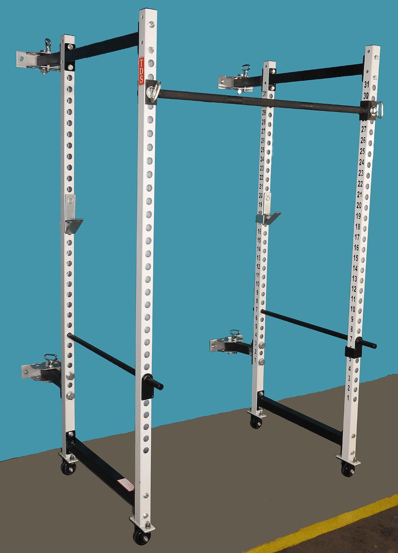 TDS Fold Back Full Power Rack