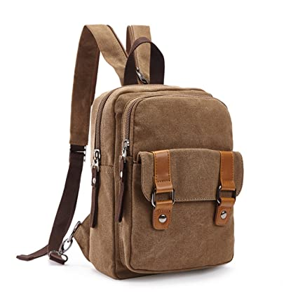 Coffee M.G mu8528 Canvas Backpack