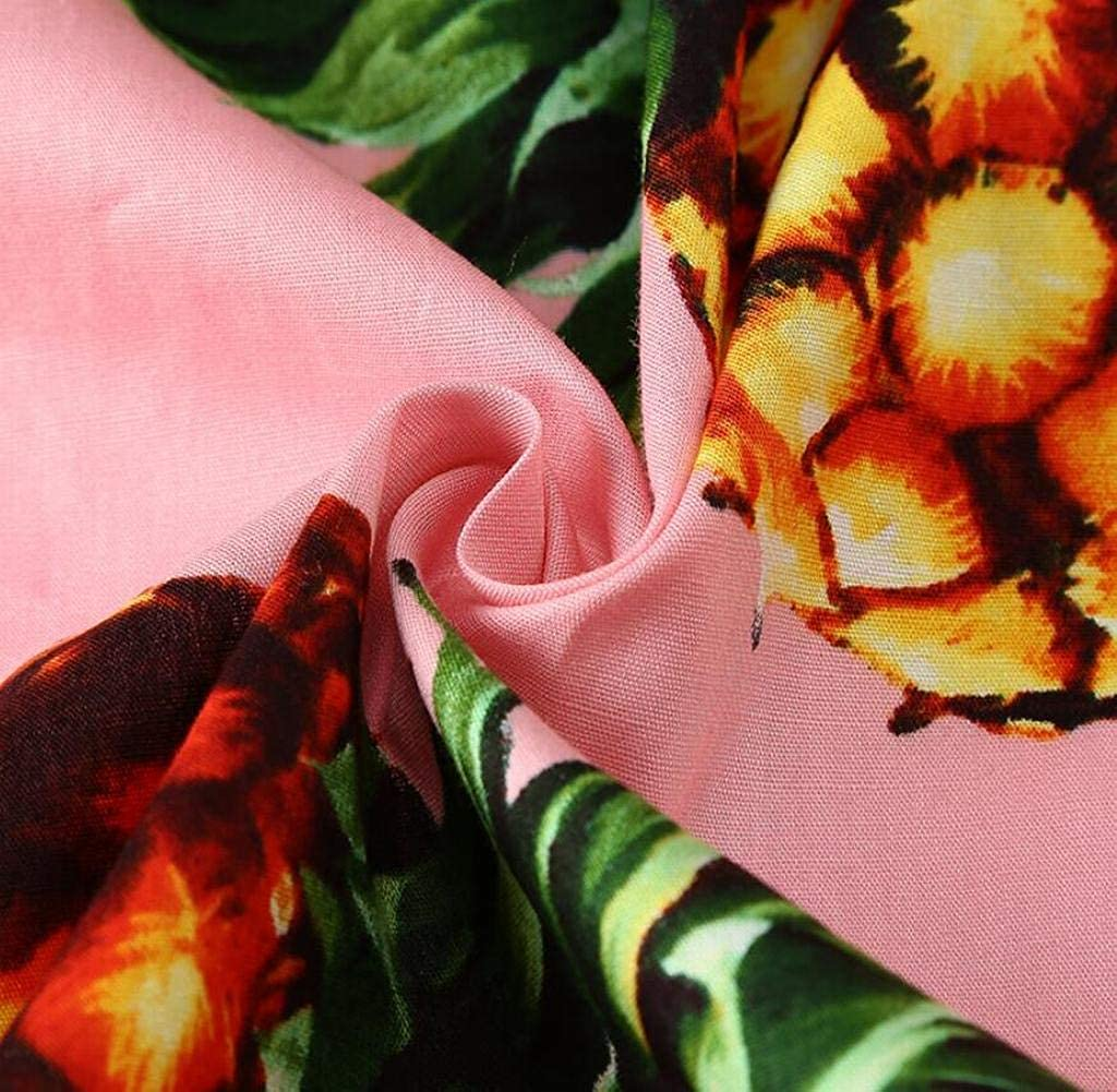 Mstyle Men Long Sleeve Floral Pineapple Hawaiian Slim Fit Button Down Dress Work Shirt 1 M