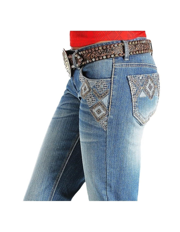 Cruel Girl Western Jeans Womens Abby Aztec 15 Long Med CB41154071