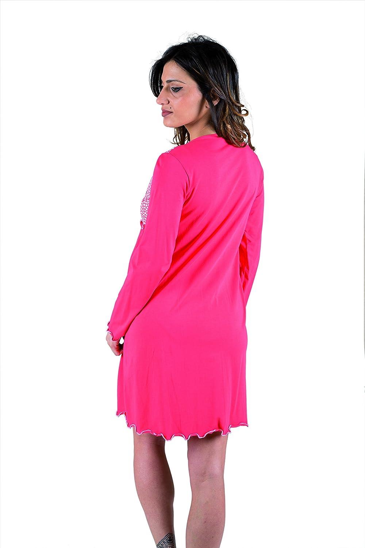 pr/é-Post Partum Coton Stretch Deux Sens Premamy Chemise Clinique pour maternit/é Ouvert Robe Avant