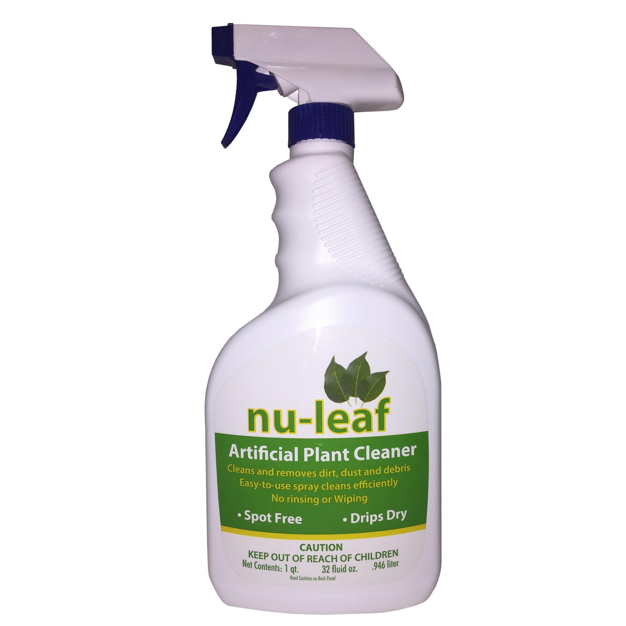 Nu-Leaf Spray & Drip-Dry Artificial Tree and Silk Plant Cleaner 32 FL.OZ