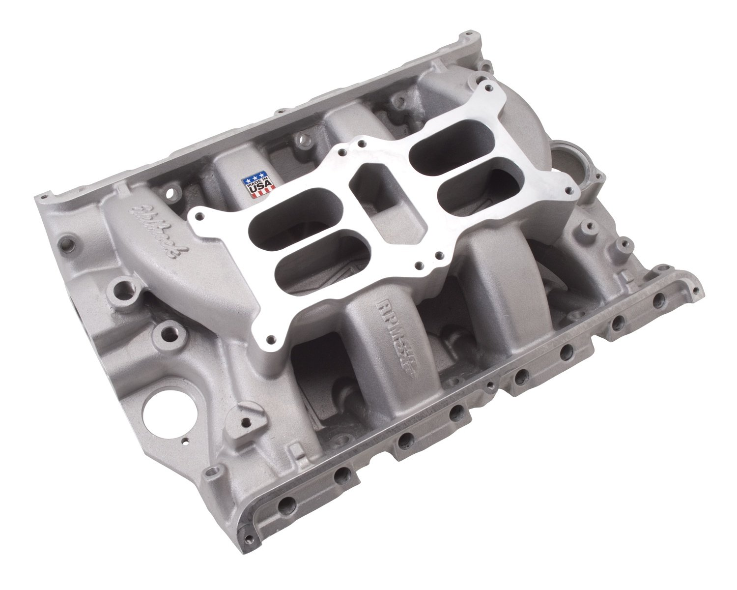 Edelbrock 7505 Rpm Air Gap Dual Quad Fe Intake Manifold 428 Ford Engine Diagram Non Egr1500 6500rpmford 390 Will Not Fit 427 Hi Riser And Tunnel Port Engines Automotive