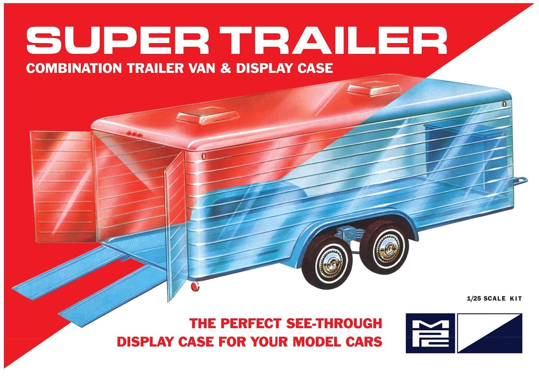MPC 1//25 Super Display Case Trailer