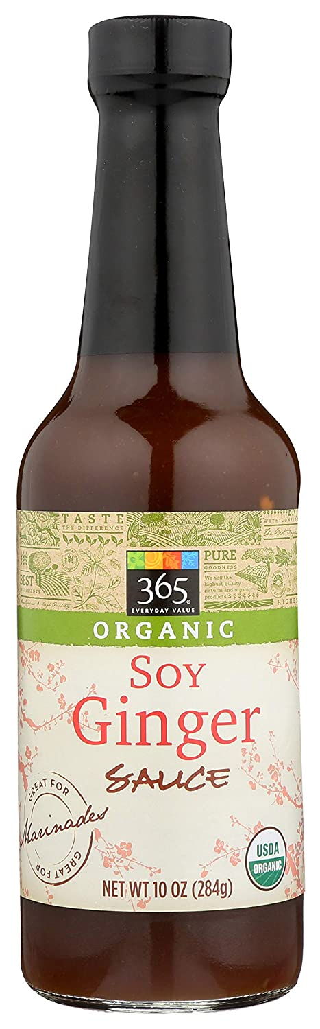 Whole foods organic soy ginger sauce