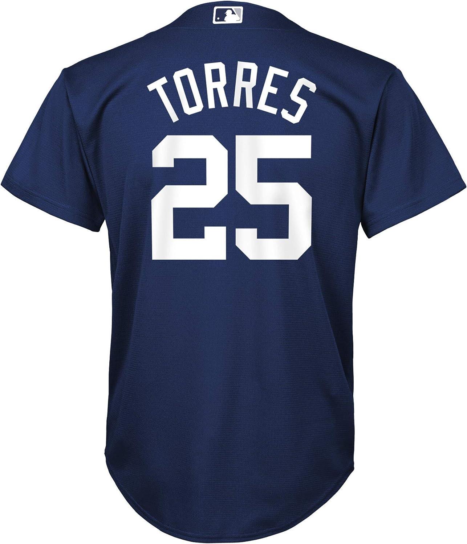 Gleyber Torres New York Yankees MLB Boys Youth 8-20 Player Jersey