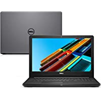 "Notebook Dell Inspiron 15 3000, i15-3576-A60C, 8ª Geração Intel Core i5-8250U, 8 GB RAM, HD 1TB, AMD Radeon 520 2GB GDDR5, Tela 15.6"" LED HD, Windows 10, Cinza"