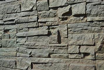 Hormigón moldes moldes de plástico ABS Juego de 5 para hormigón pared (acabado en yeso