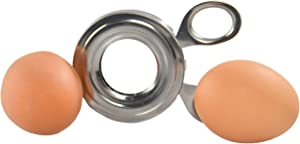 HOME-X Egg Top Slicer for Soft- and Hard-Boiled Eggs, Food Cutter, Pro Kitchen Gadget