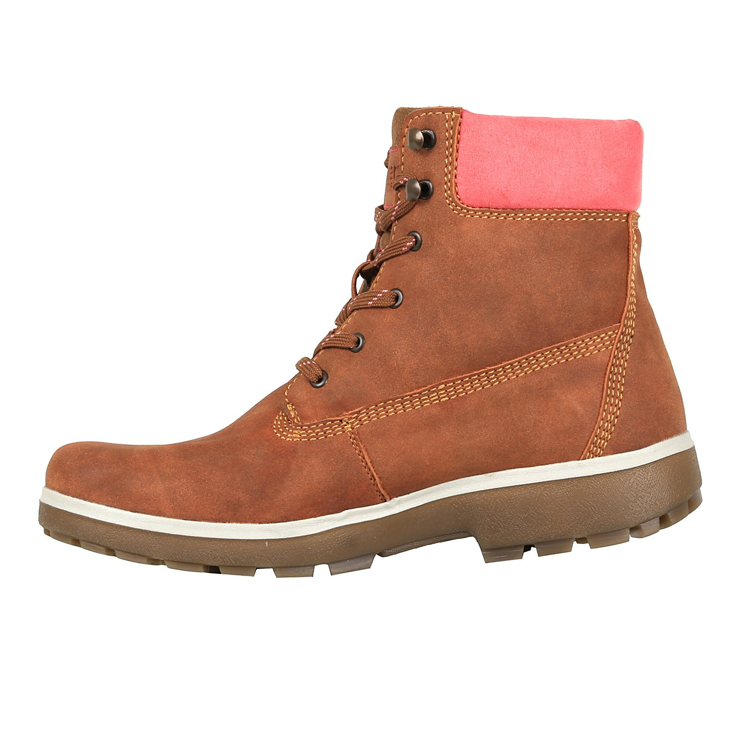 Discovery Expedition Women's Adventure High Top Lace up Hiking Boot Cinnamon Size 9.5 by Discovery Expedition (Image #2)