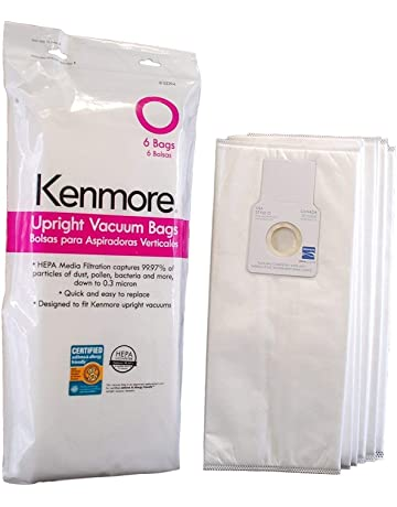 Kenmore 53294 6 Pack Type O HEPA Vacuum Bags for Upright Vacuums