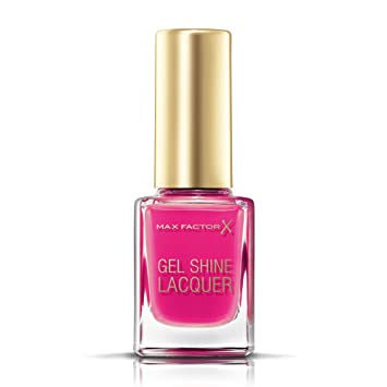 Max Factor Gel Shine Lacquer Nail Polish 11 Ml 30 Twinkling Pink