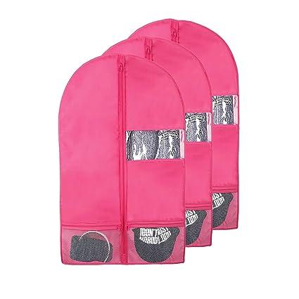 89ffb5ebf9a0 Kernorv Garment Bags for Dance Costumes, 36
