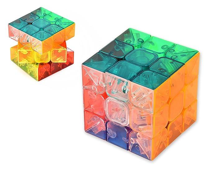 DSstyles MoYu YuLong Cubo 3x3x3 Rompecabezas cubo velocidad Puzzle Cubo Mágico