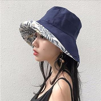 GAOQIANGFENG Womens UPF 50 + Un Sombrero Doble af5d6d30fcab
