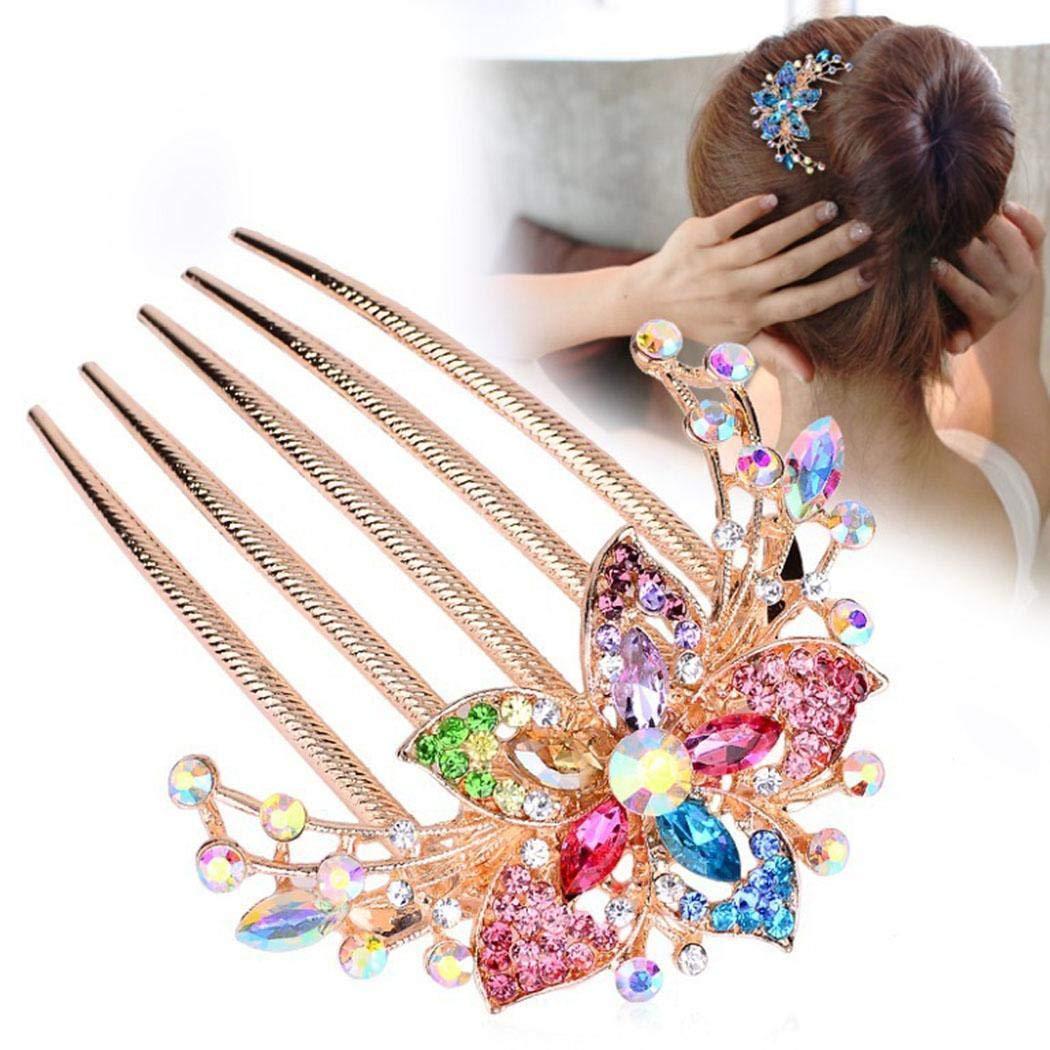 Ankidz Women Headdress Hair Inserting Comb Wedding Decoration Accessories Gift Hair Pins
