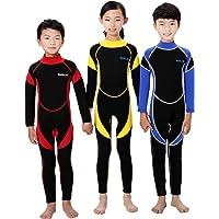 Scubadonkey 2.5 mm Neoprene Full Body Wetsuit for Kids | Jellyfish Repelling | for Scuba Diving Wind Surfing Kayaking…