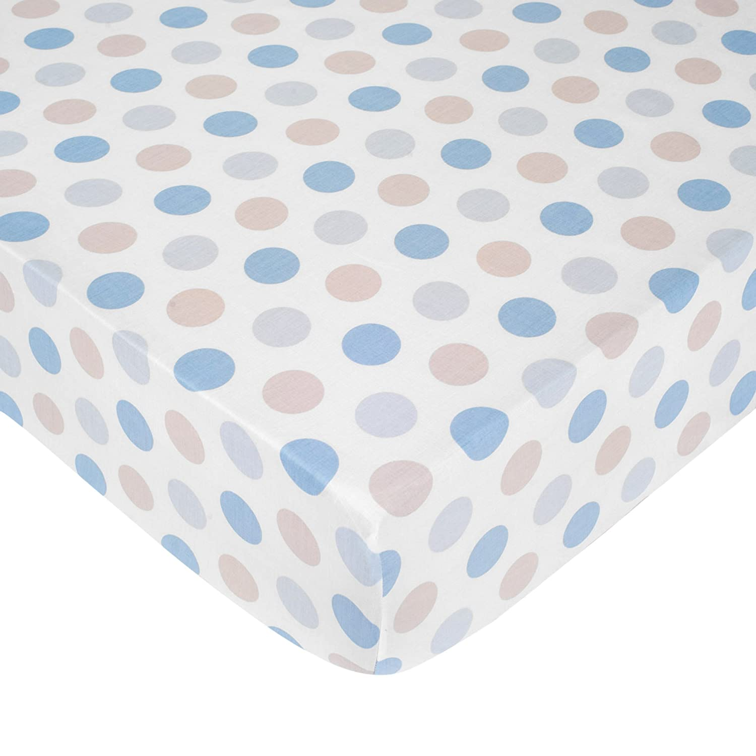 Carter's Crib Fitted Sheet, Boy Dots (Discontinued by Manufacturer) by Carter's   B00M1HAUK0