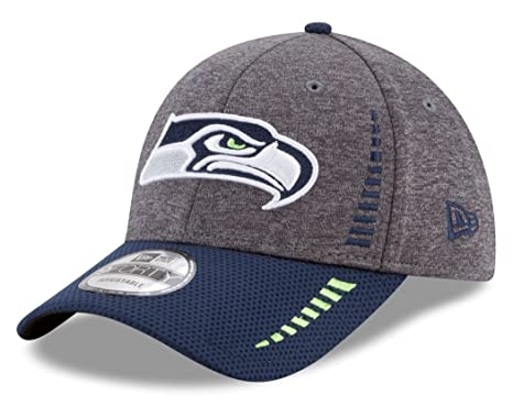 977e5a035 Image Unavailable. Image not available for. Color  Seattle Seahawks New Era  9Forty NFL  quot Speed quot  Performance Adjustable Hat - 2 Tone