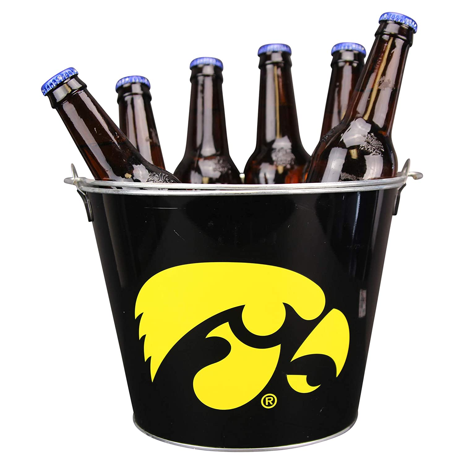 Holds 5+ Beers and Ice NCAA Collegiate Full Color Beer Buckets