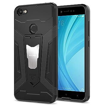 HOOMIL Resistente Funda para Xiaomi Redmi Note 5A Silicona Carcasa Shock-Absorción Case Cover - Negro (H3210)