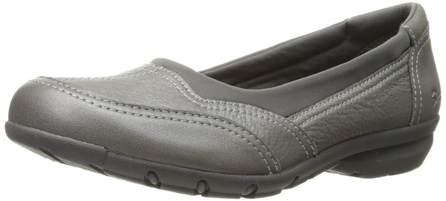 Skechers Women's Career First Impression Ballet Flat B01B60CWQW 7 B(M) US|Pewter Leather