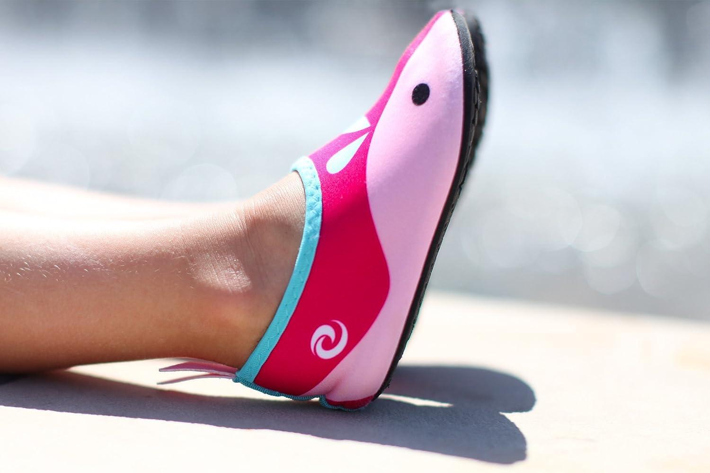 Splash Pad Anti-Slip Kids Water Shoes Flexible Beach Comfortable for Pool Sports