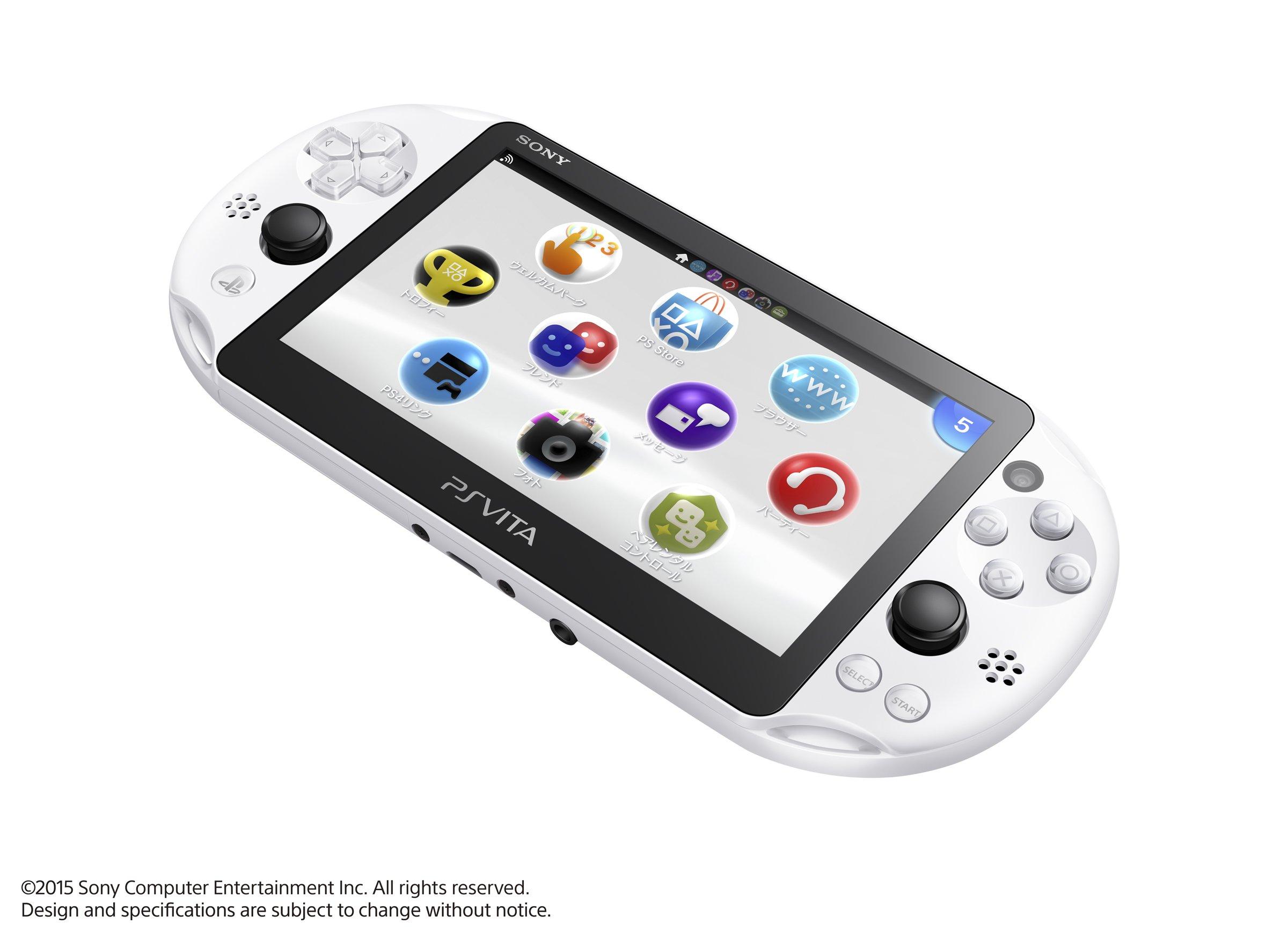PlayStation Vita Wi-Fi model Glacier White (PCH-2000ZA22) Japanese Ver. Japan Import by Sony (Image #2)