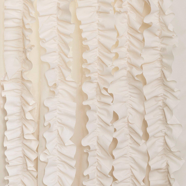 Lush Decor Lake Como Curtains Amazoncom Lush Decor Belle Curtain 84 X 54 Inches Ivory Home