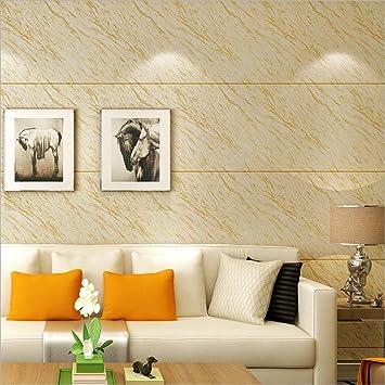 Hu0026M Tapete Modernen Stil 3D Einfach PVC Nachahmung Marmor Tapete Dekoration  Wohnzimmer Restaurant TV Wand Schlafzimmer