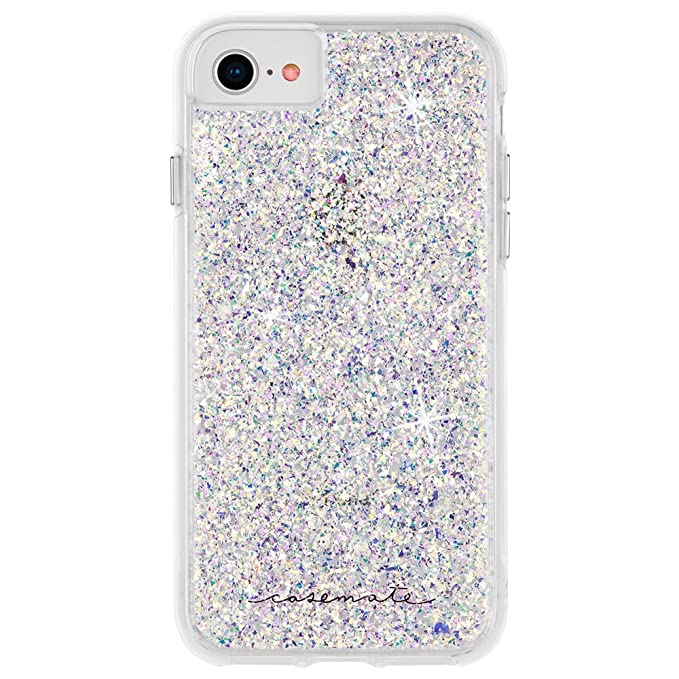 outlet store 10087 5b9d2 Case-Mate - iPhone 8 Case - Twinkle - Reflective Foil Elements - Protective  Design - Stardust