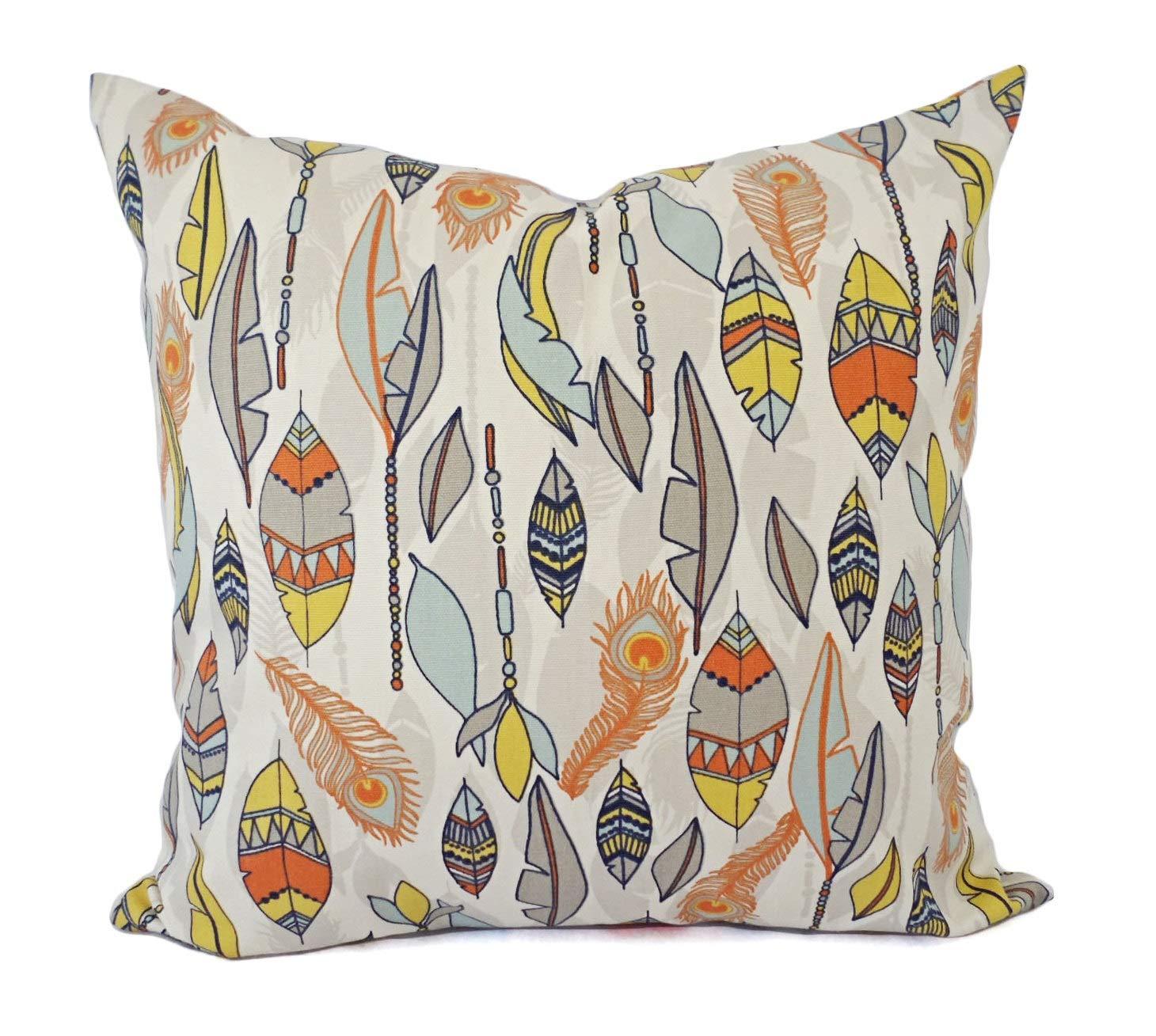 Se556th - Funda de Almohada Decorativa de Color Naranja y ...