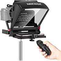 """Neewer X1 Mini Teleprompter, 8"""" Portable Teleprompter for iPad Tablet Smartphone DSLR Cameras with Remote Control, App…"""